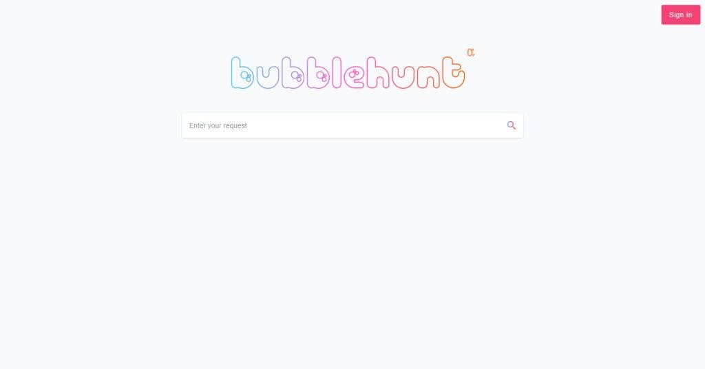 Bubblehunt