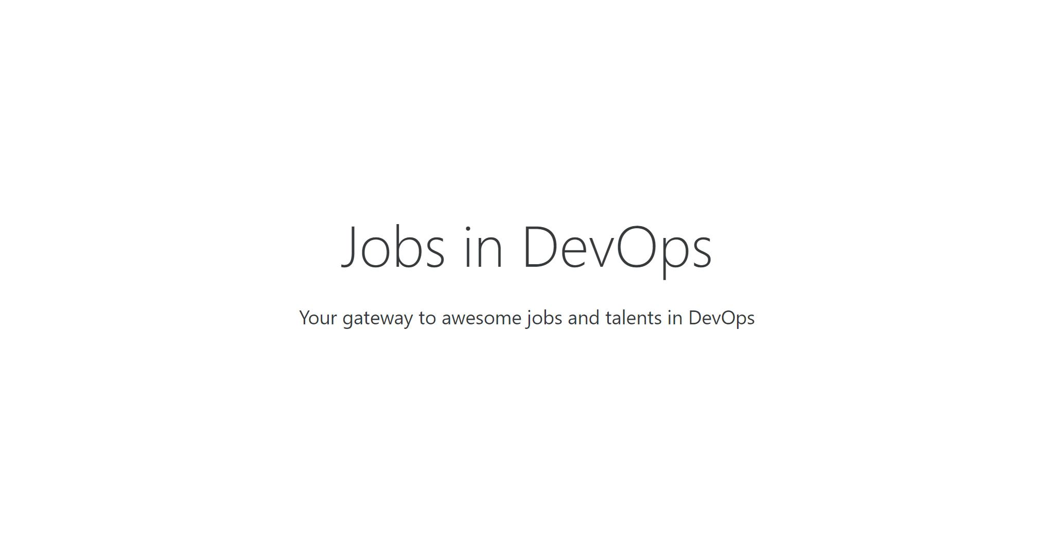 DEVOPS-JOBS.NET