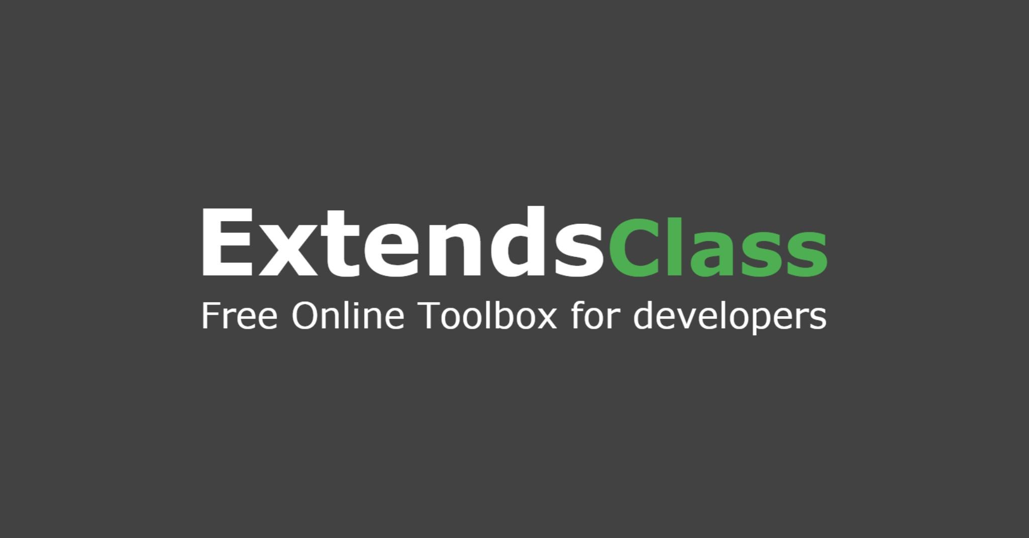 ExtendsClass