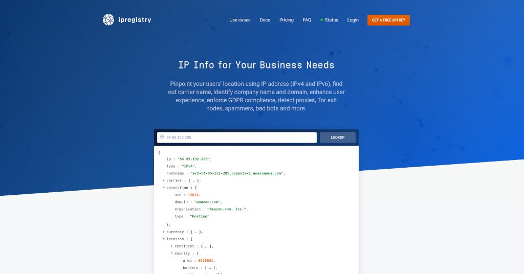 Ipregistry