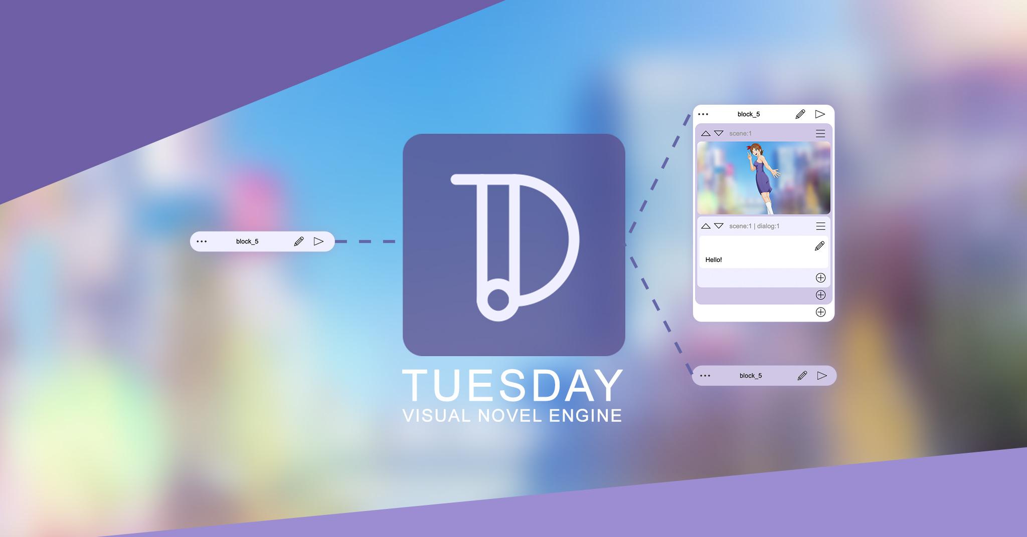 Tuesday JS visual novel engine