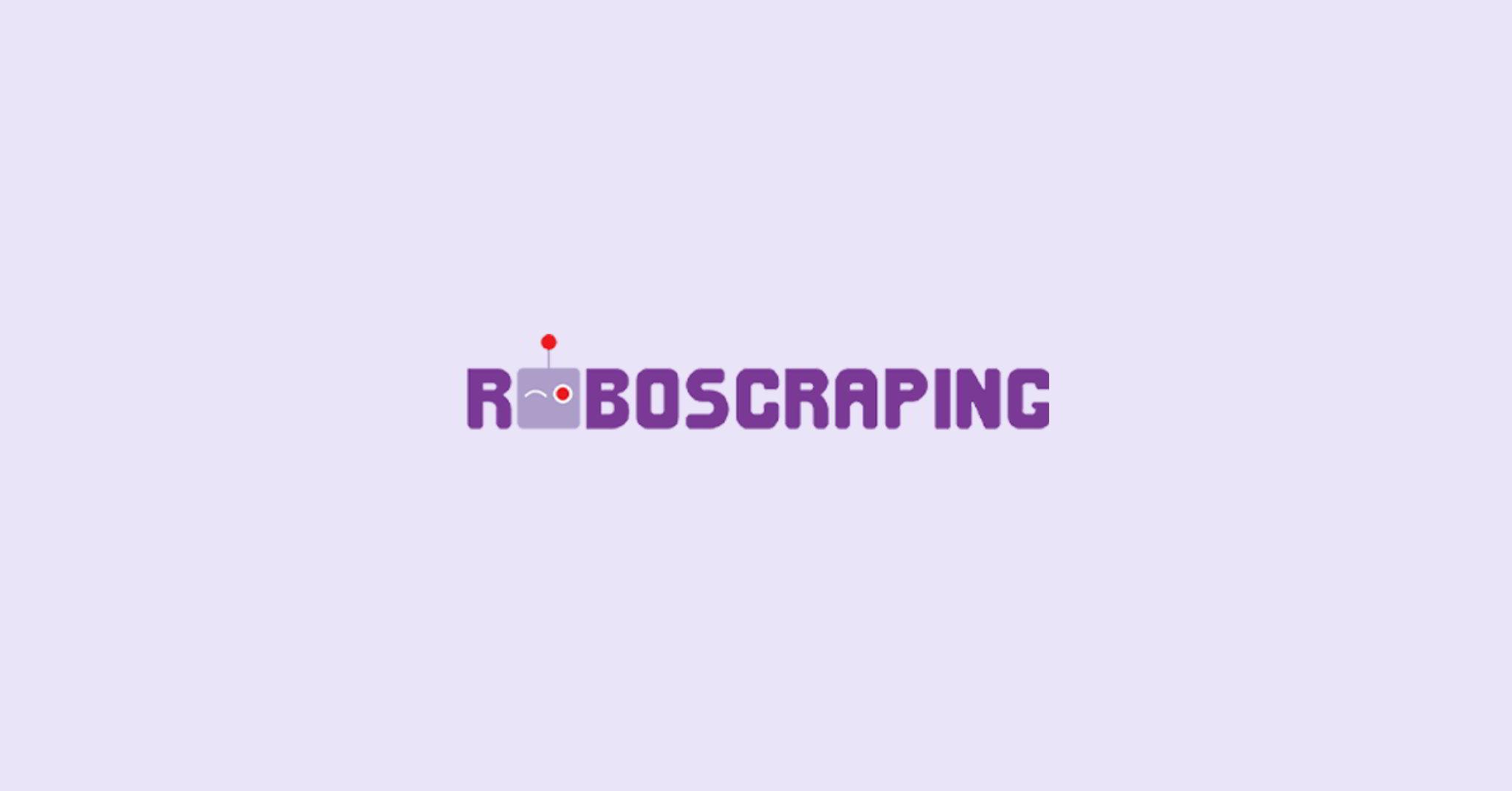 Roboscraping