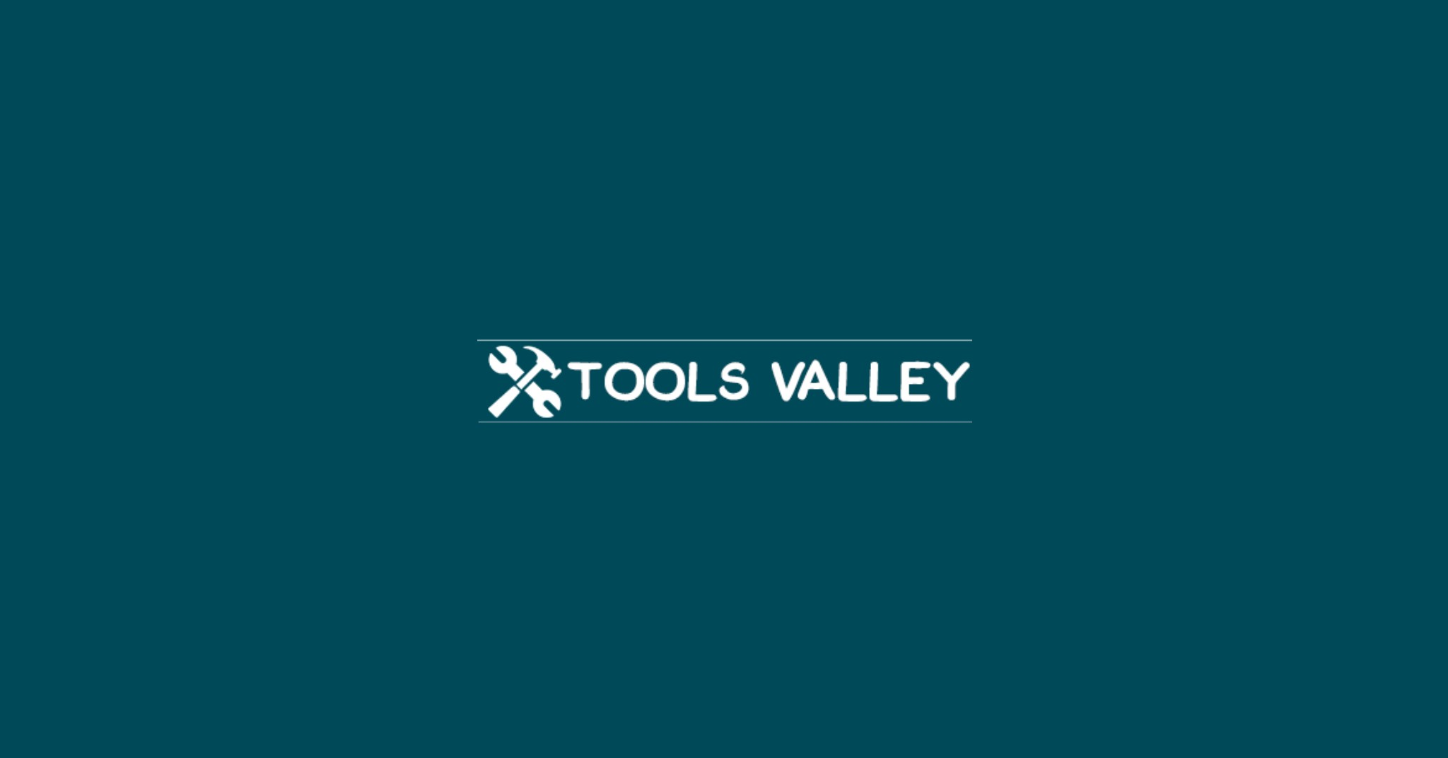 Tools Valley