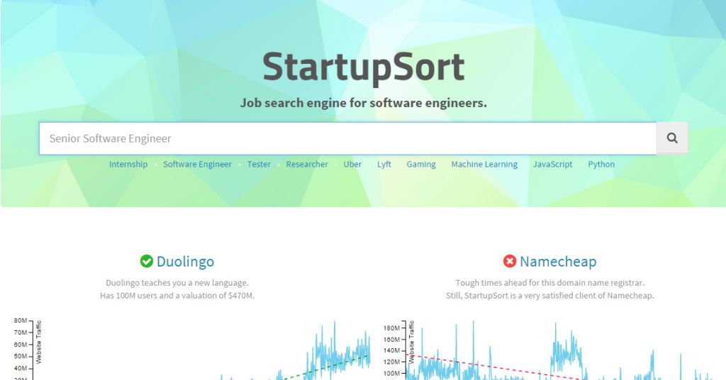 StartupSort